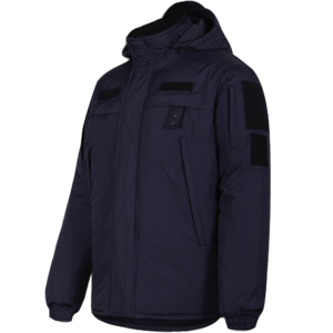 Куртка Nylon Patrol Jacket Dark Blue темно-синя | Camo-Tec