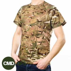 Футболка CoolMax Olive, Black, Multicam