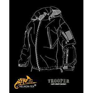 Куртка TROOPER - Soft Shell | Helikon-Tex