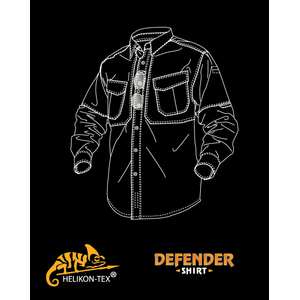 Рубашка Defender длинный рукав - Canvas | Helikon-Tex