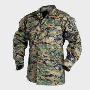 Китель USMC - PolyCotton Twill - Digital Woodland | Helikon-Tex