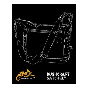 Сумка BUSHCRAFT SATCHEL - Cordura - Adaptive Green